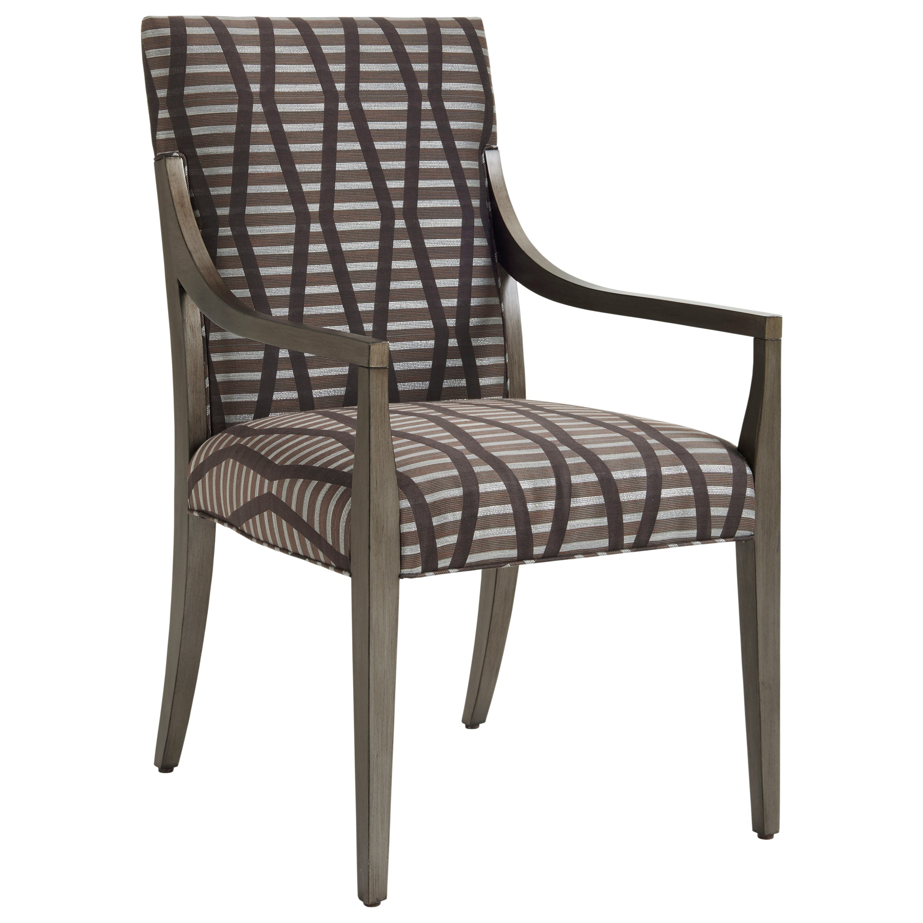 Ariana Saverne Upholstered Arm Chair by Lexington at Johnny Janosik