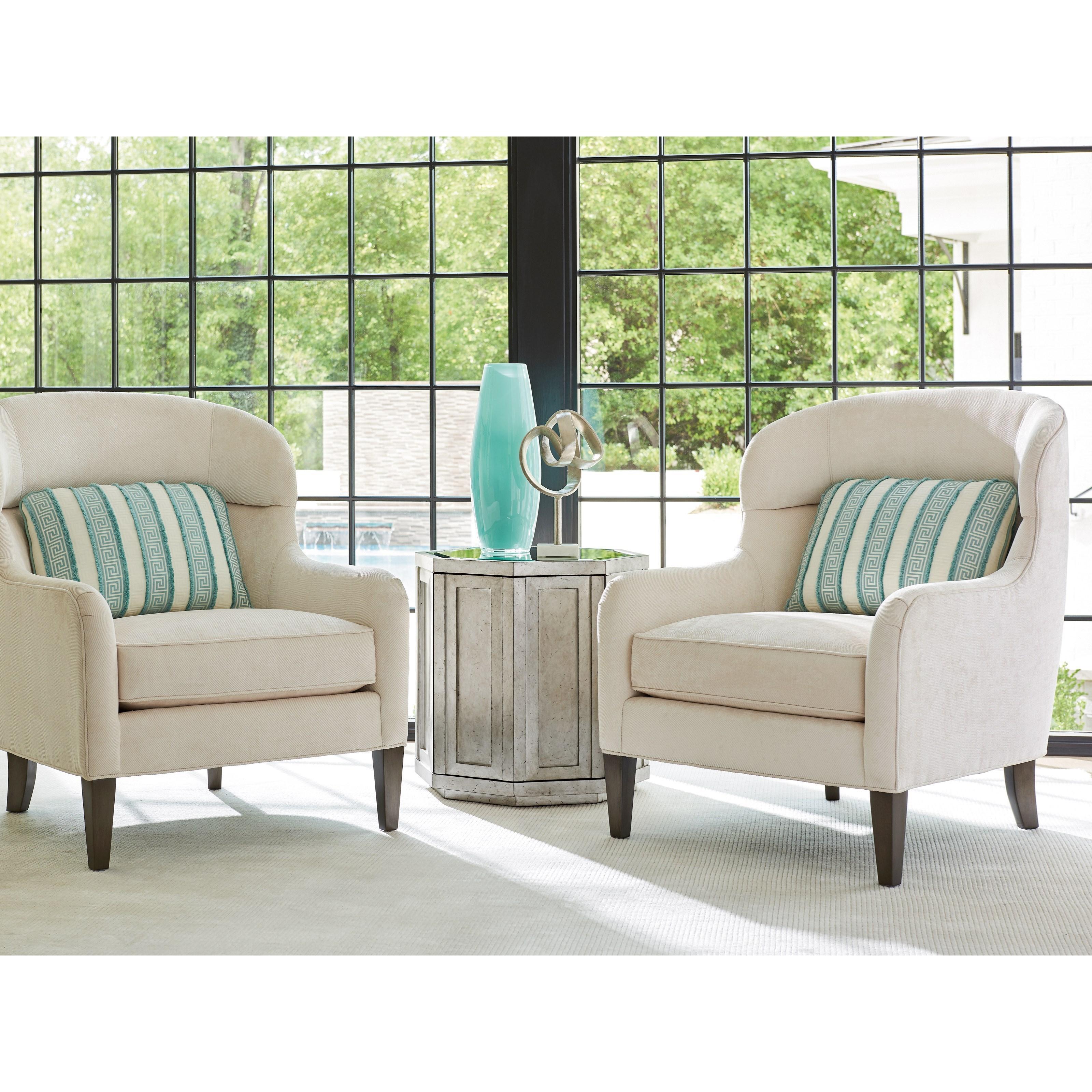 Lexington Ariana 7648 11 Chaffery Barrel Back Lounge Chair