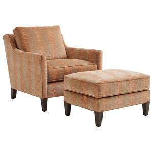 Lexington Ariana Turin Chair & Ottoman