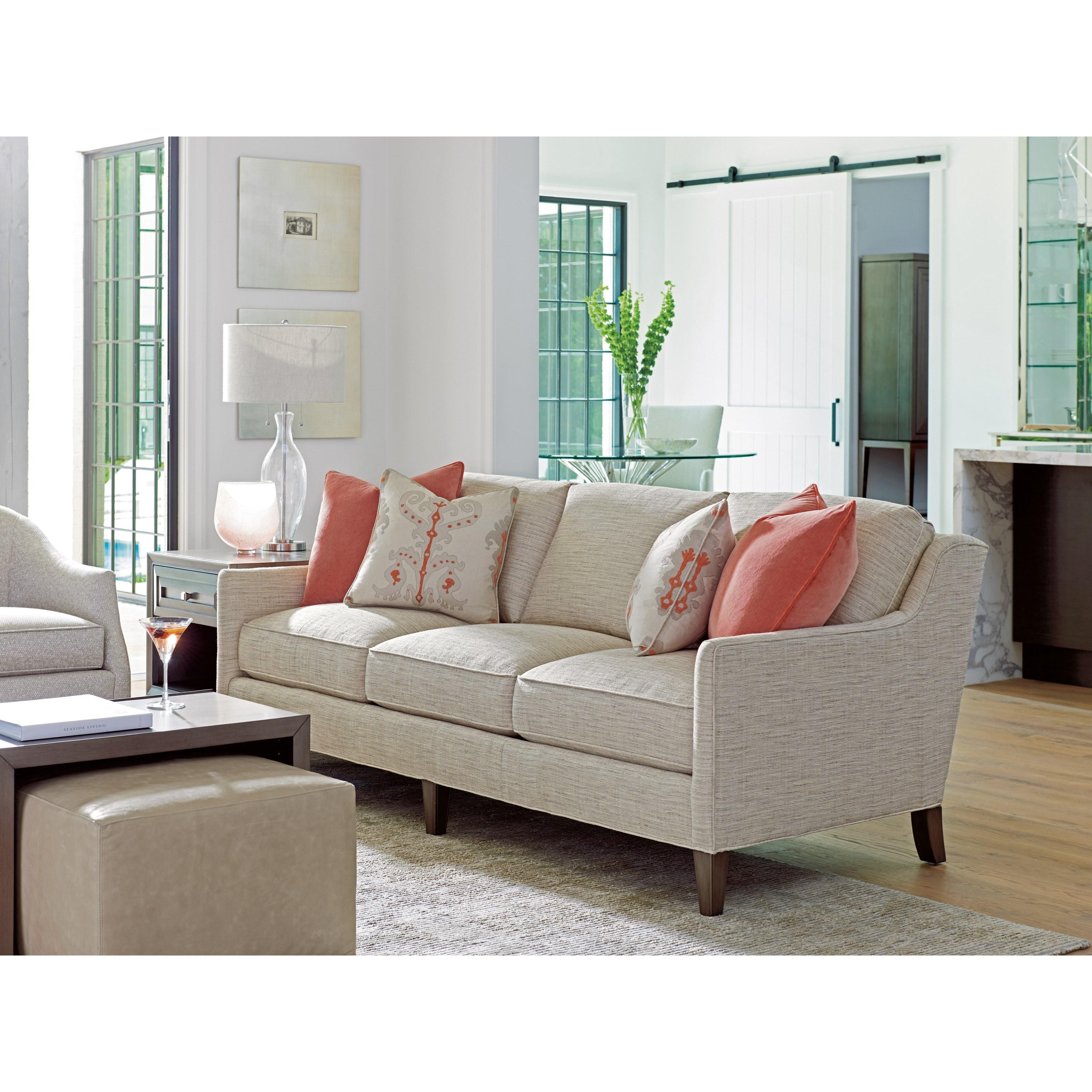 Lexington Ariana 7716 33 Turin Contemporary Sofa Baer S