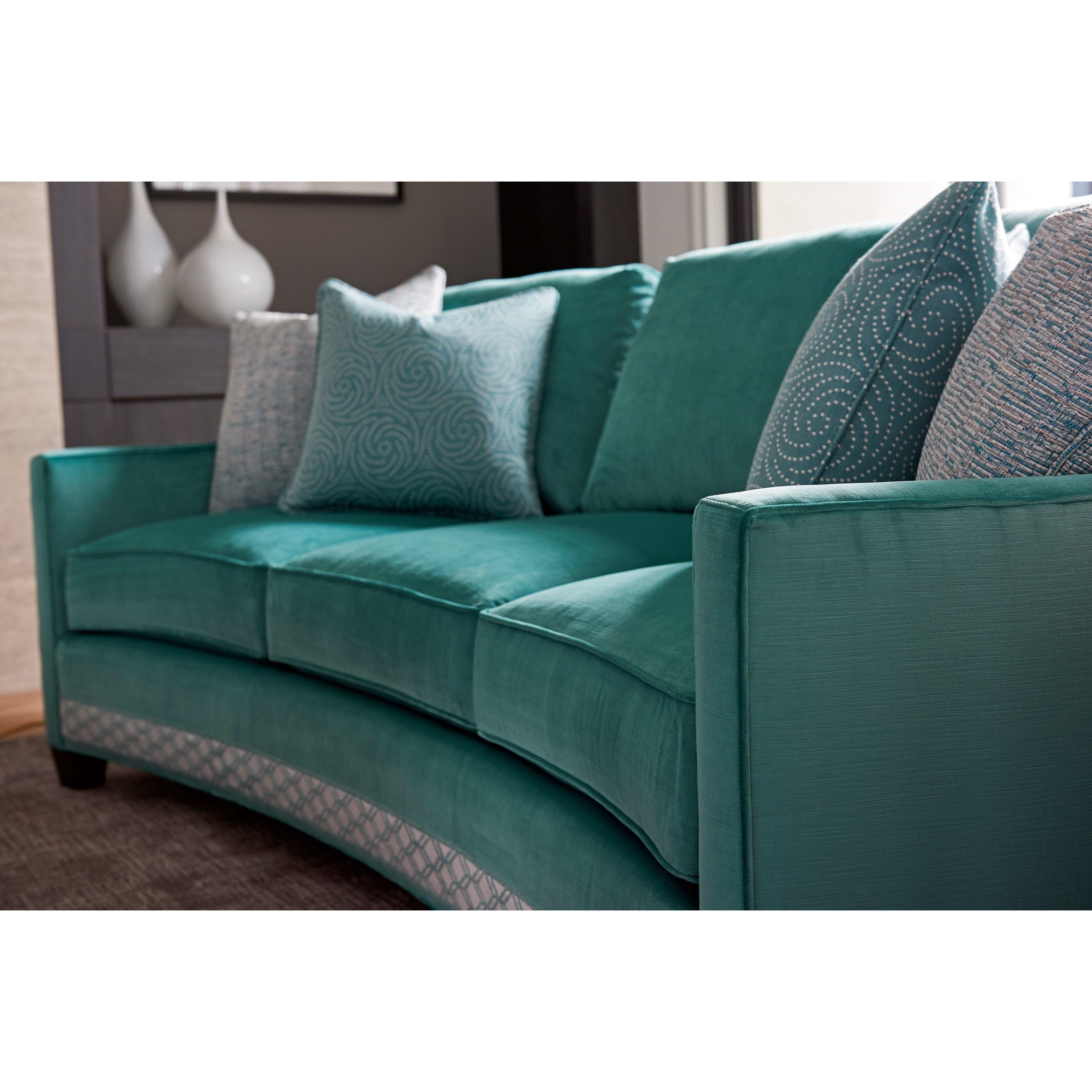 Lexington Ariana 7931 33 Valenza Curved Sofa Baer S