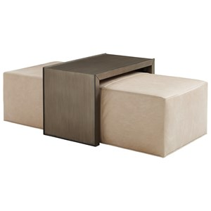 Lexington Ariana Savona Cocktail Ottoman