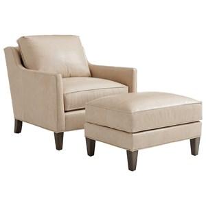 Lexington Ariana Turin Chair & Ottoman