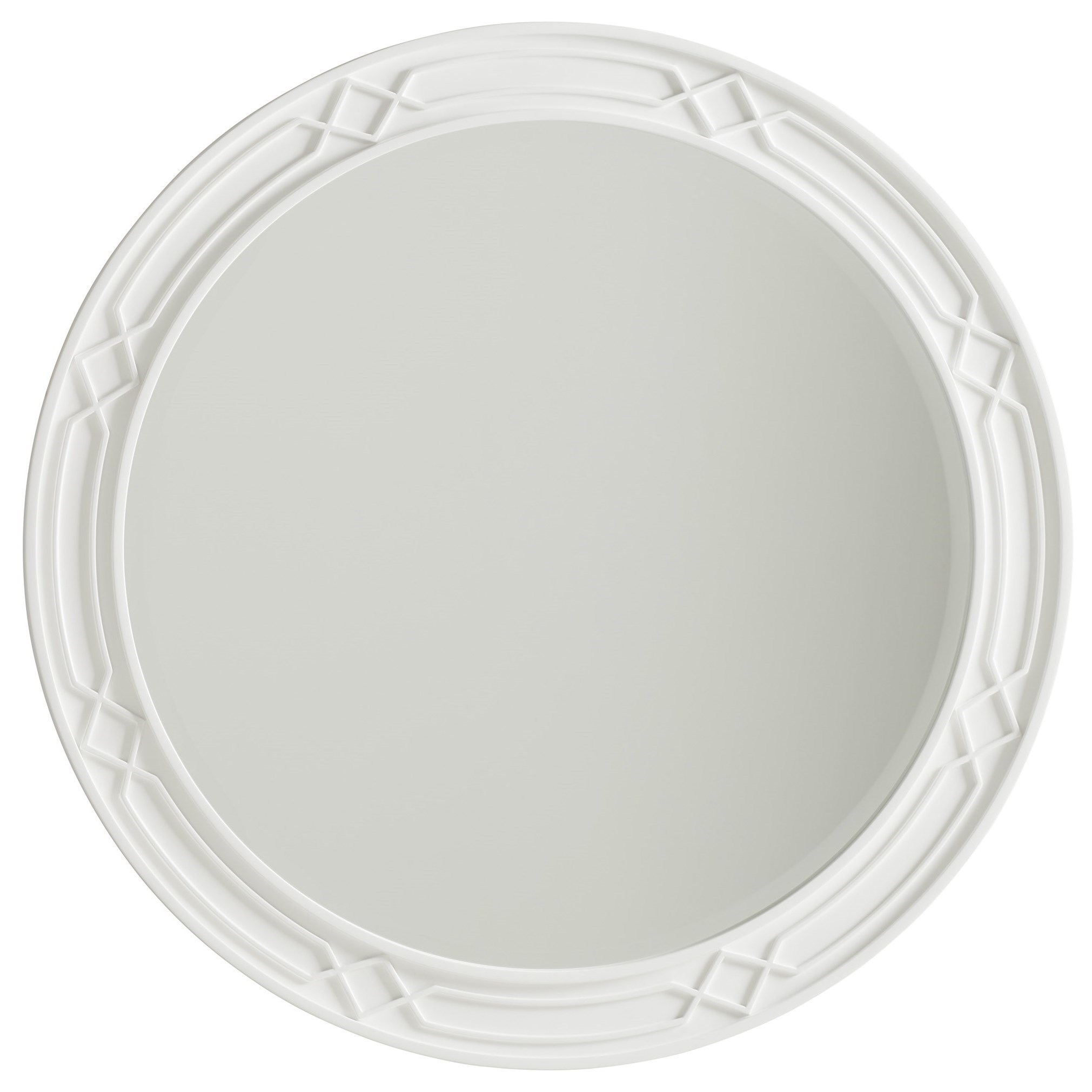 Avondale Carreno Round Mirror by Lexington at Baer's Furniture