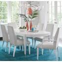 Lexington Avondale 7 Piece Dining Set - Item Number: 415-877+2X881-01+4X880-01