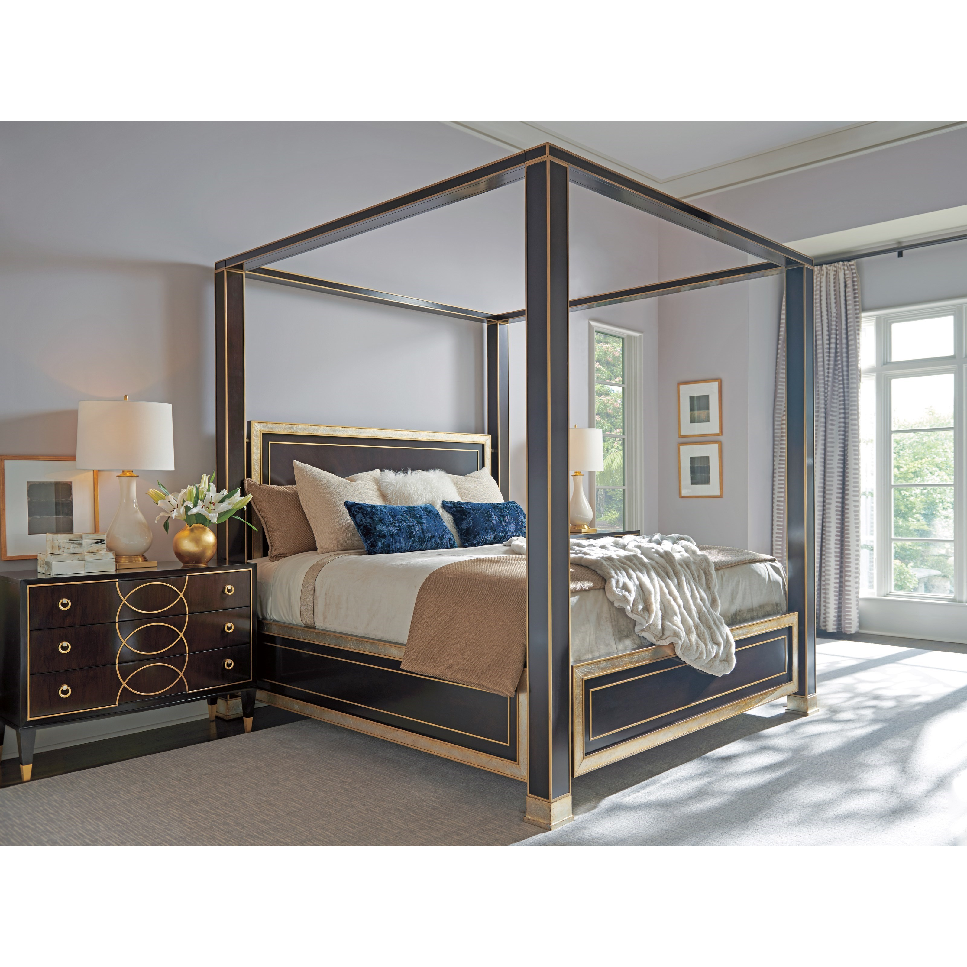 Carlyle King Bedroom Group by Lexington at Baer's Furniture