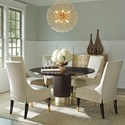Lexington Carlyle 6 Pc Dining Set - Item Number: 736-875C+5X884-01