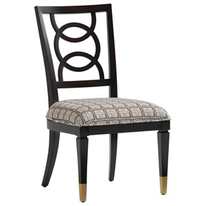 Pierce Upholstered Side Chair - Custom
