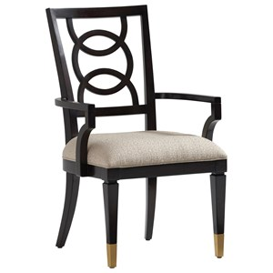 Pierce Upholstered Arm Chair