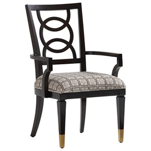 Pierce Upholstered Arm Chair - Custom