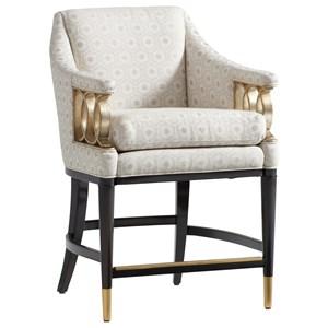 Hemsley Upholstered Counter Stool - Custom