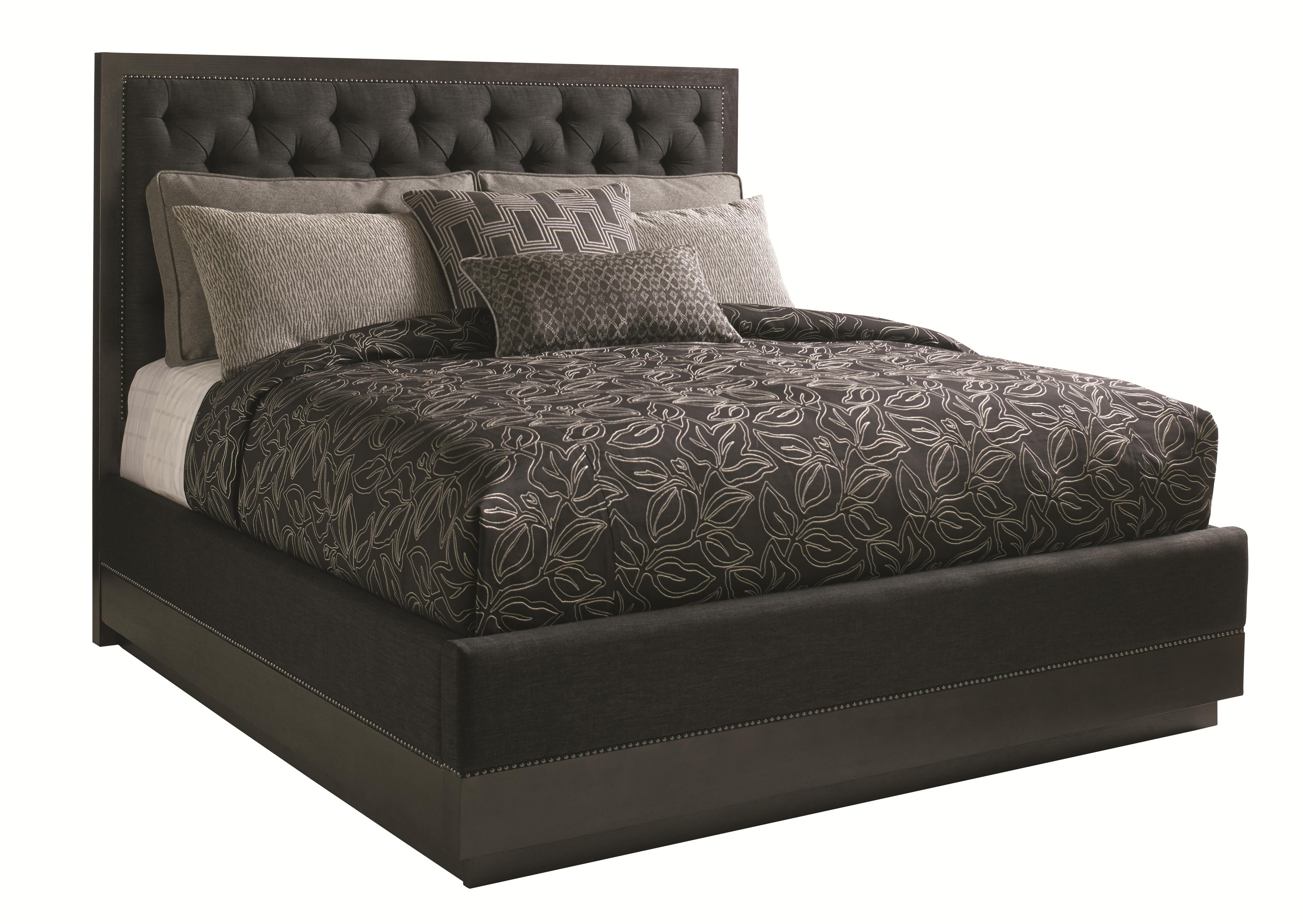 Carrera Complete 6/6 Maranello Upholstered Bed by Lexington at Johnny Janosik