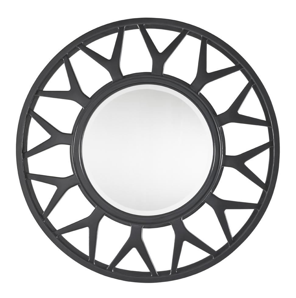 Carrera Esprit Round Mirror  by Lexington at Baer's Furniture