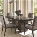 Lexington Carrera Modena 5 Pc Dining Set - Item Number: 911-876C+2X911-880+2X911-881