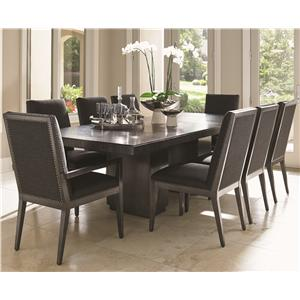 Modena 9 Pc Dining Set