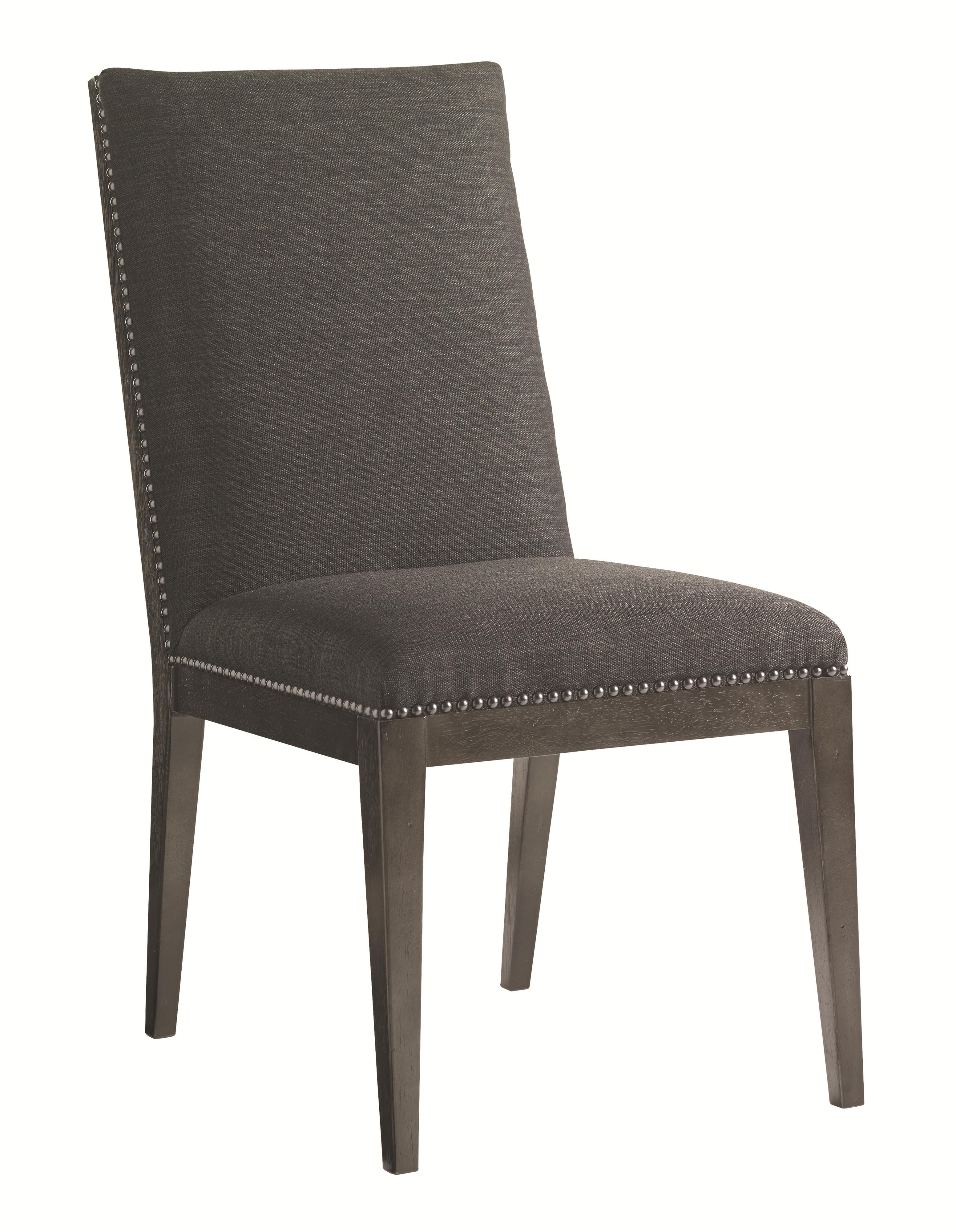 Carrera Vantage Upholstered Side Chair by Lexington at Johnny Janosik