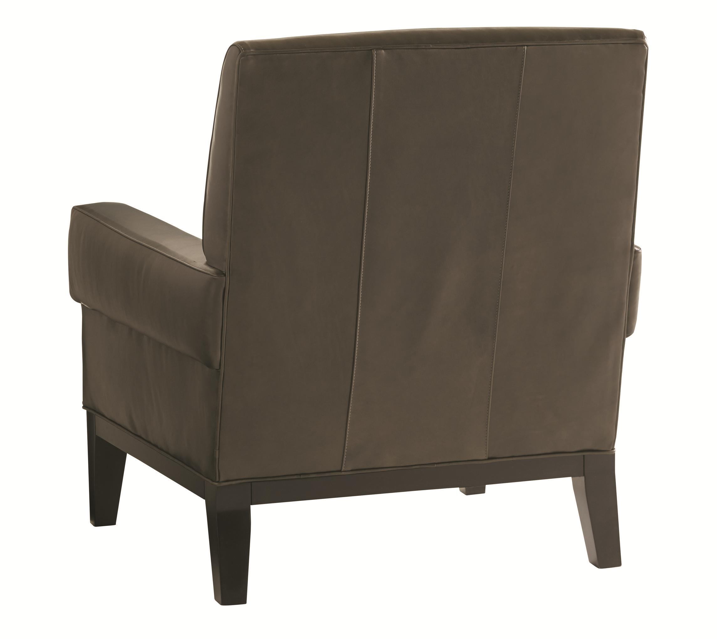 Lexington Carrera Giovanni Chair And Ottoman Set With Exposed Wood Base John V Schultz