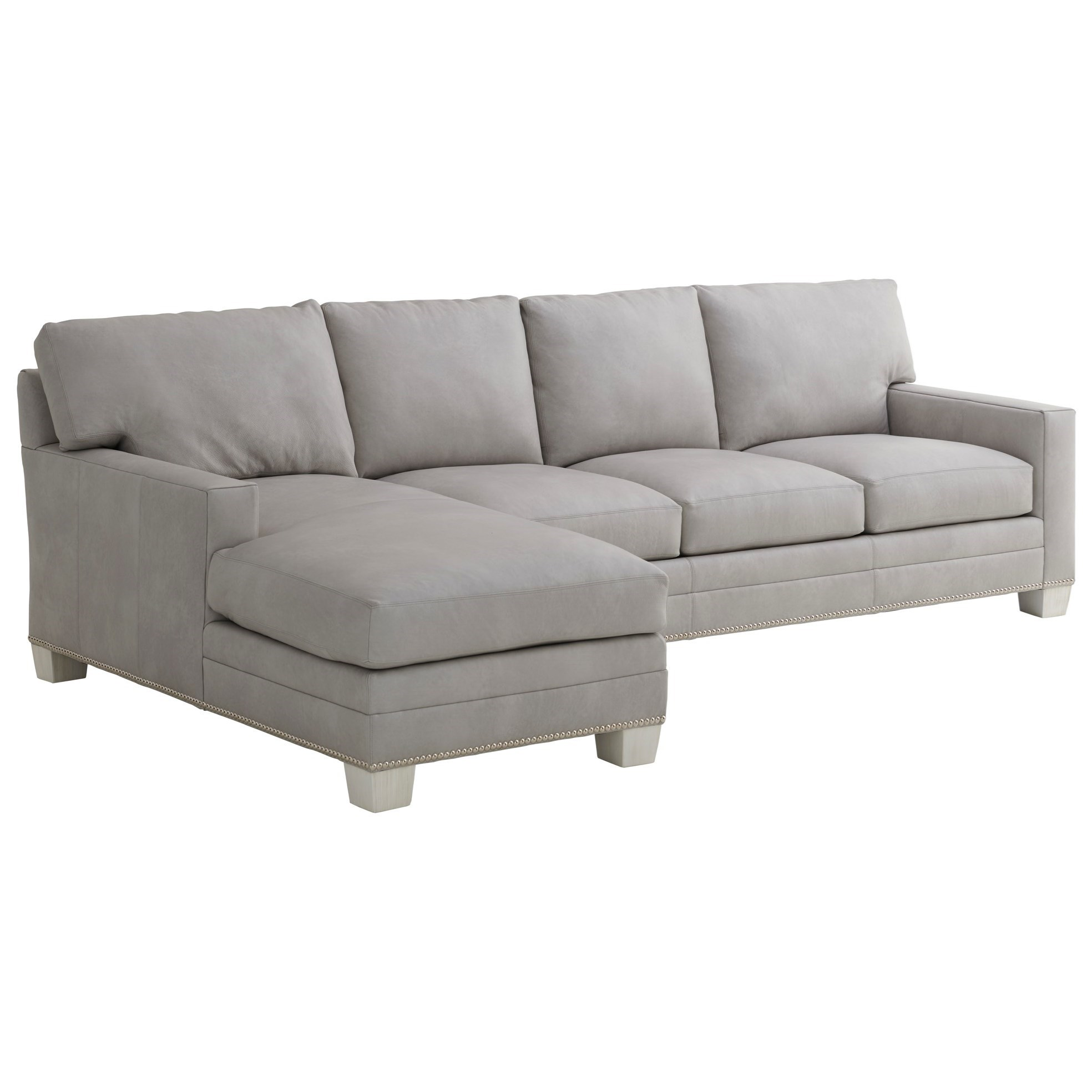 Braxton Customizable 4-Seat Chaise Sofa