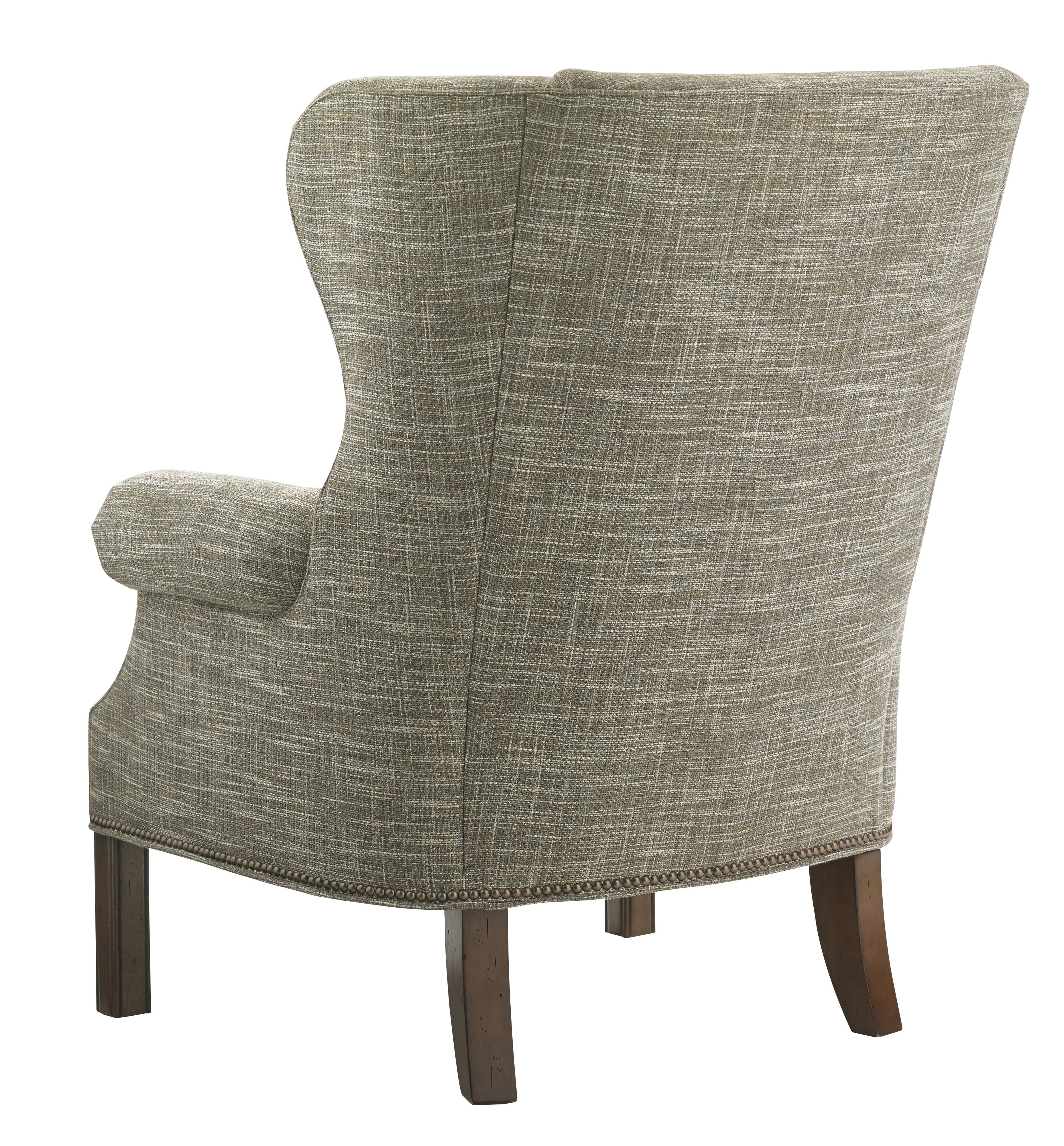 Leather Sofa Repairs In Coventry: Lexington Coventry Hills Logan Transitional Wing Chair
