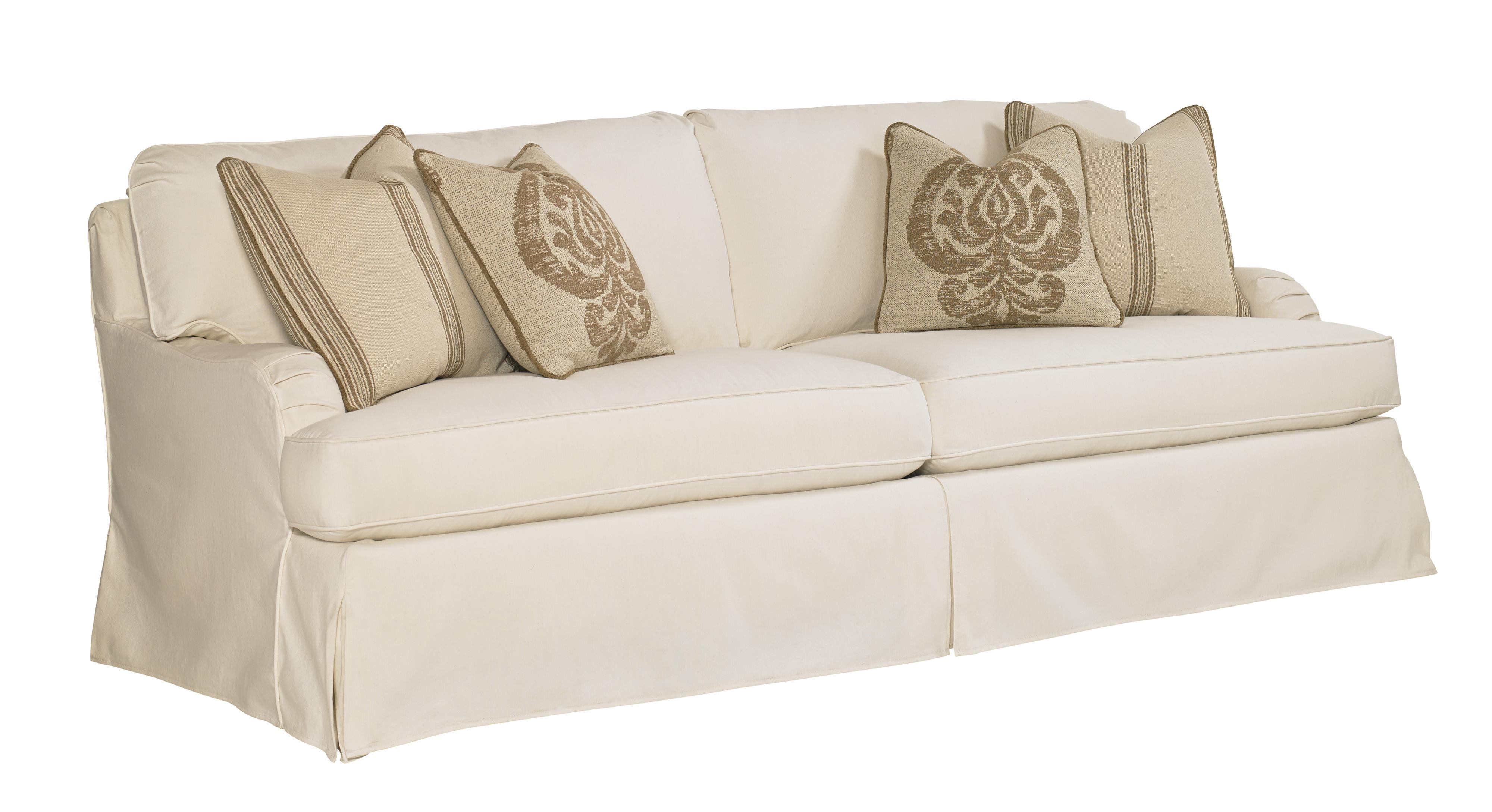 Lexington Coventry Hills Stowe Slipcover Sofa   Item Number: 7476 33CR