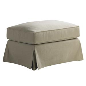 Lexington Coventry Hills Stowe Slipcover Ottoman