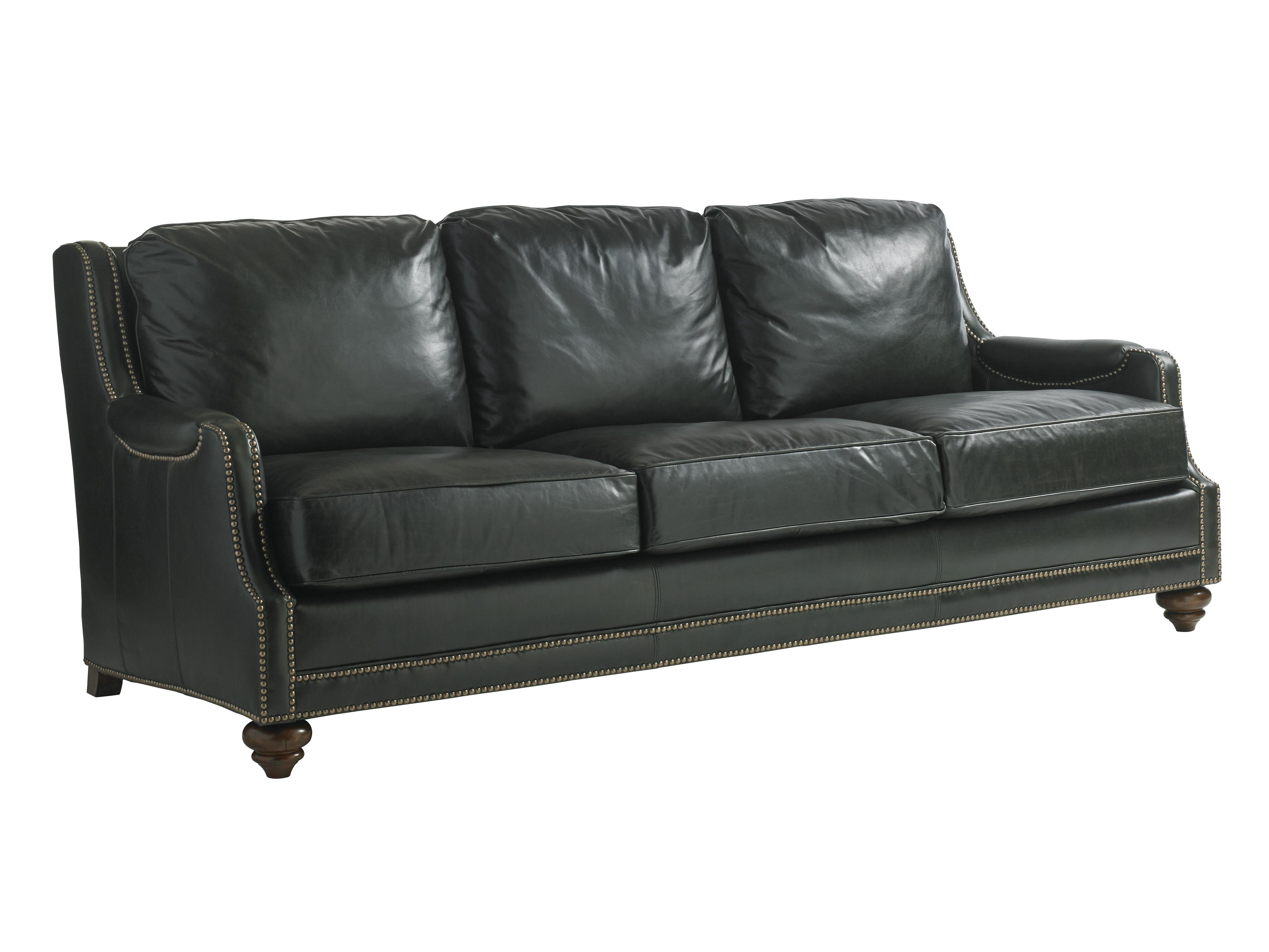 Lexington Coventry Hills Alcot Leather Sofa - Item Number: 7572-33-01