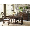 Lexington Coventry Hills Rexford Table with Flip-Open Drop Leaves and Storage