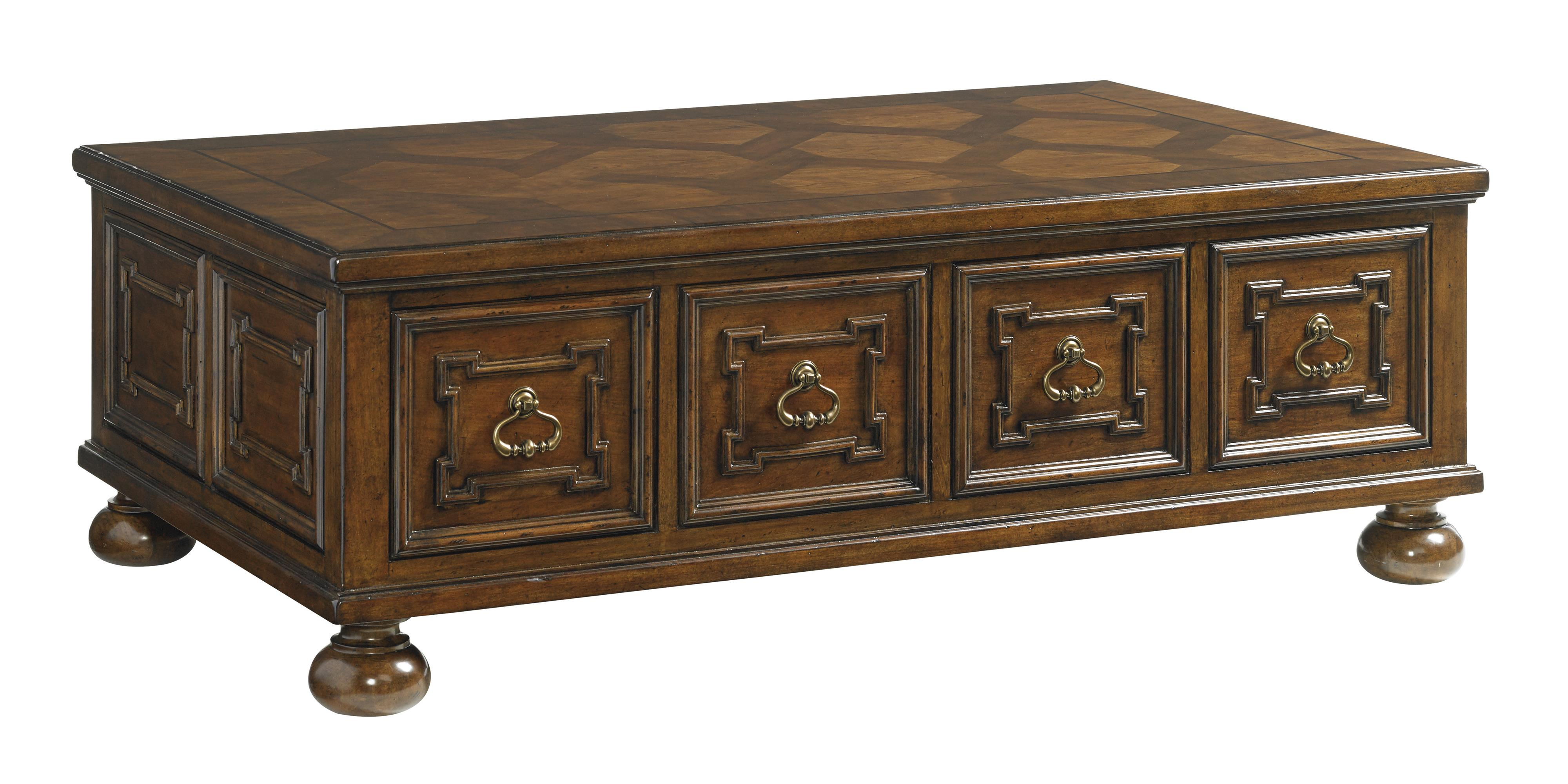 Lexington Coventry Hills Pine Valley Storage Cocktail Table - Item Number: 945-943
