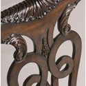 Lexington Henry Link Trading Co Oxford Square Queen Anne Dining Arm Chair with Ball-and-Claw Feet in Sable Finish