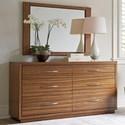 Lexington Kitano Dresser + Mirror Set - Item Number: 734-222+205