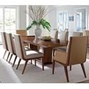 Lexington Kitano 9 Pc Dining Set - Item Number: 734-877C+2X881+6X880-01