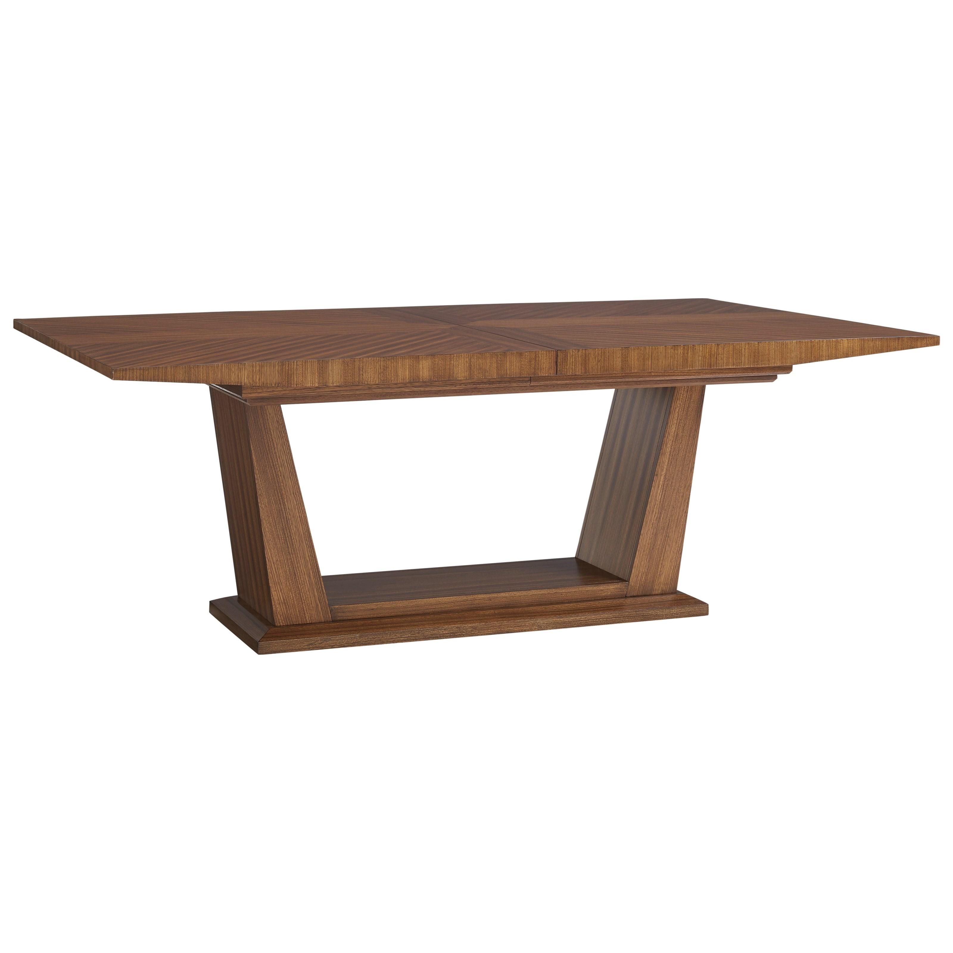Lexington Kitano Caldera Rectangular Dining Table - Item Number: 734-877C