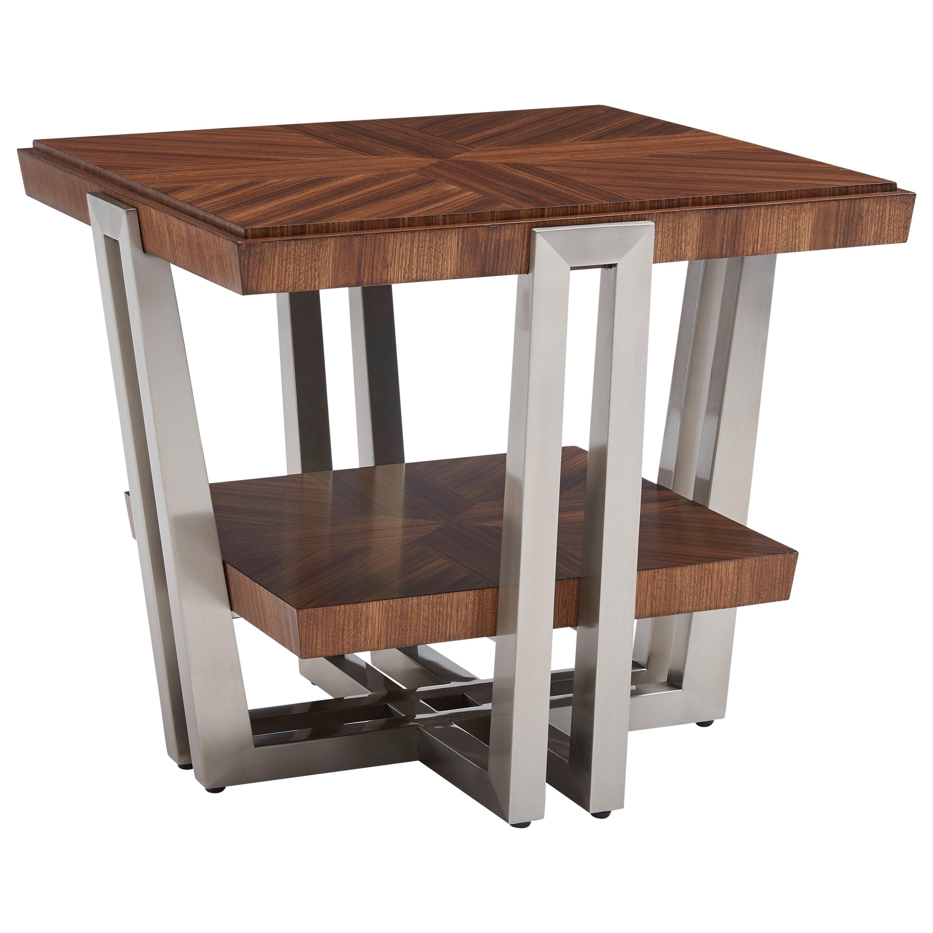 Kitano Gianni Square End Table by Lexington at Johnny Janosik