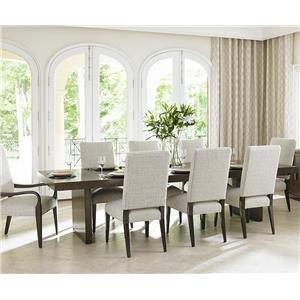 Lexington LAUREL CANYON 9 Piece Dining Set
