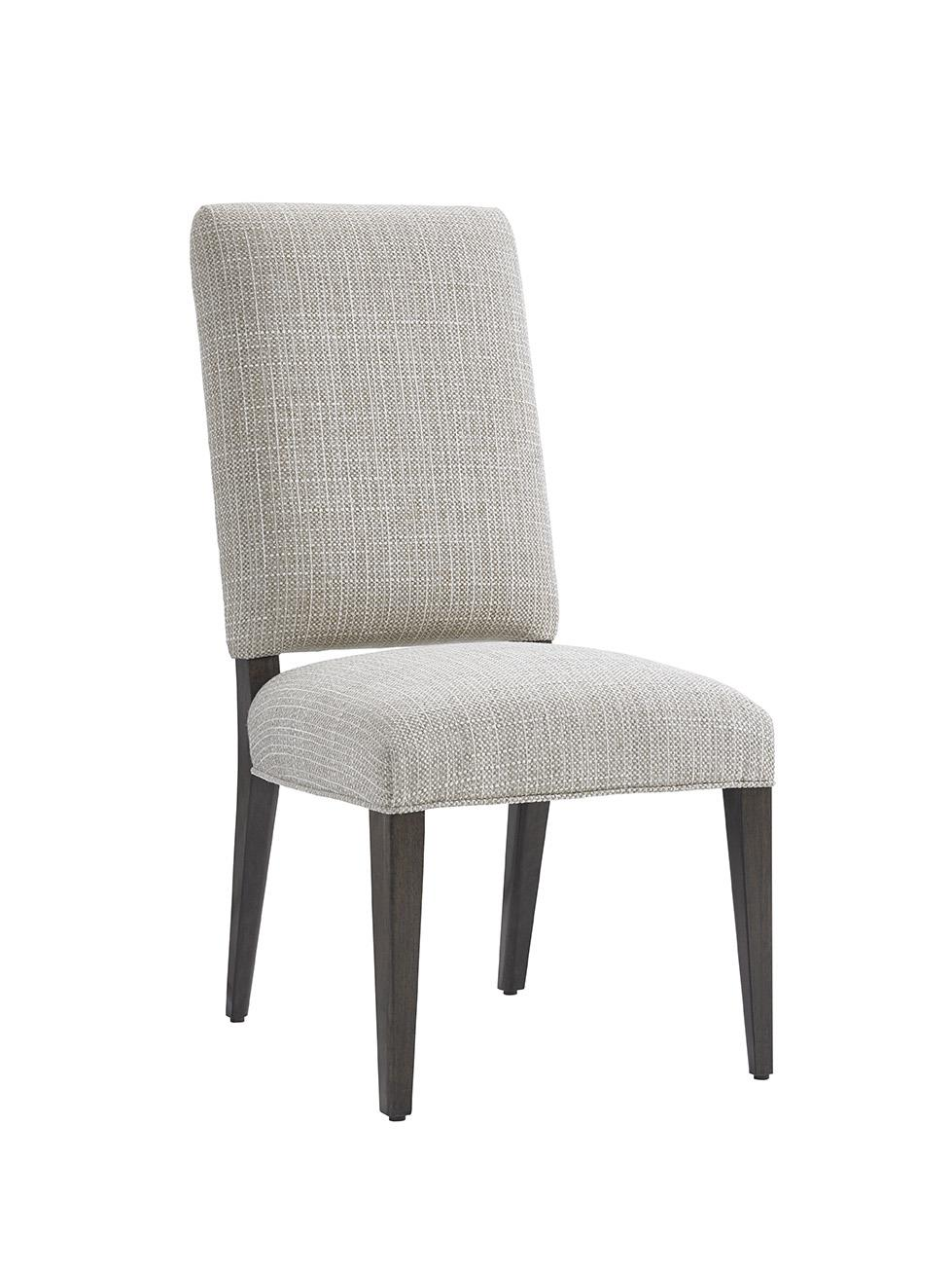 LAUREL CANYON Sierra Upholstered Side Chair (Married Fabr) by Lexington at Johnny Janosik