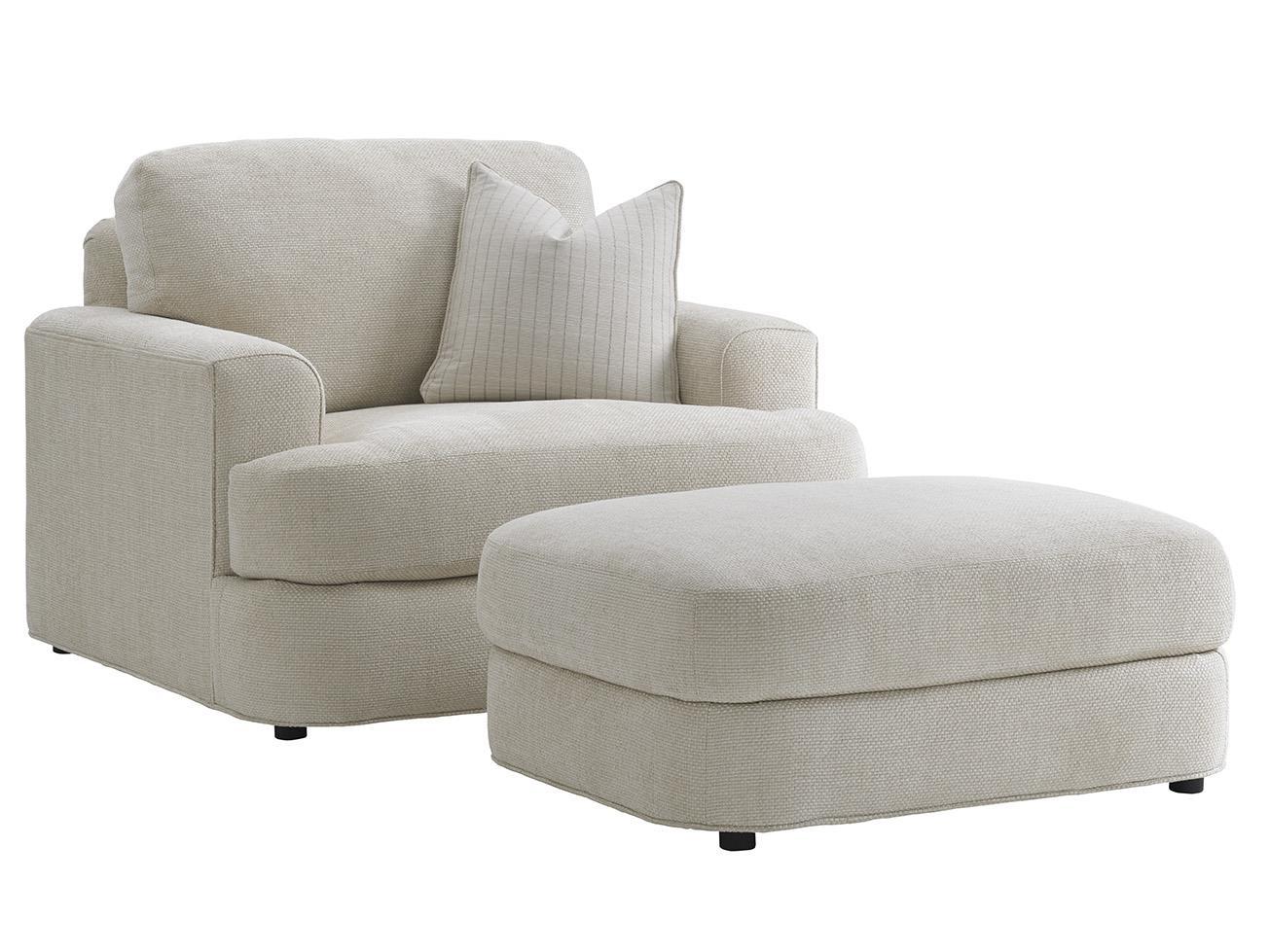 Halandale Chair and Ottoman Set