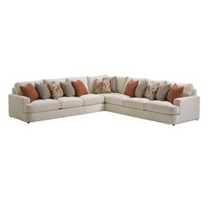 Lexington LAUREL CANYON Halandale Sectional Sofa