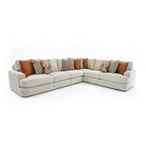 Lexington LAUREL CANYON Halandale Two Piece Sectional Sofa  sc 1 st  Baeru0027s Furniture : orlando sectional sofa - Sectionals, Sofas & Couches
