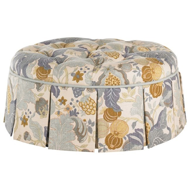 Lexington Upholstery Lauren Ottoman by Lexington at Johnny Janosik