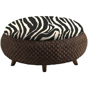 Customizable Kenya Cocktail Ottoman
