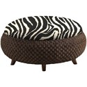 Lexington Lexington Upholstery Customizable Kenya Cocktail Ottoman - Item Number: 1561-44
