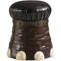 Lexington Lexington Leather Elephant Foot Stool - Item Number: 4011-1097-956675