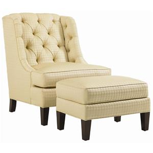Lexington Lexington Upholstery Belrose Chair and Ottoman