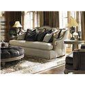 Lexington Lexington Upholstery Aragon Sofa with Exposed Wood Arms