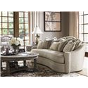 Lexington Lexington Upholstery Promenade Sofa with Sloped Track Arm