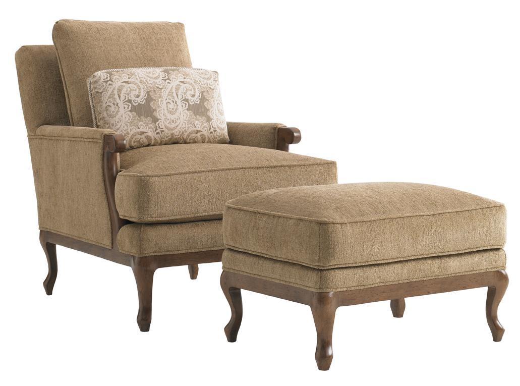 Kenton Chair & Ottoman