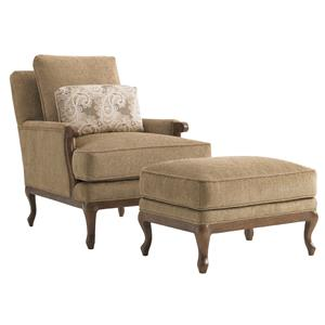 Lexington Lexington Upholstery Kenton Chair & Ottoman