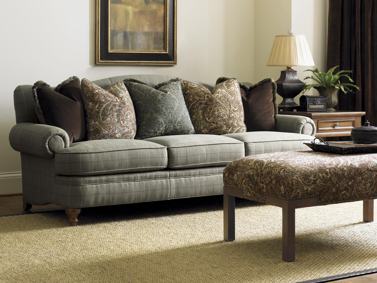 Lexington Lexington Upholstery Ashford Camel Back Sofa