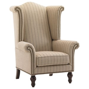 Lexington Lexington Upholstery Customizable Kings Row Wing Chair