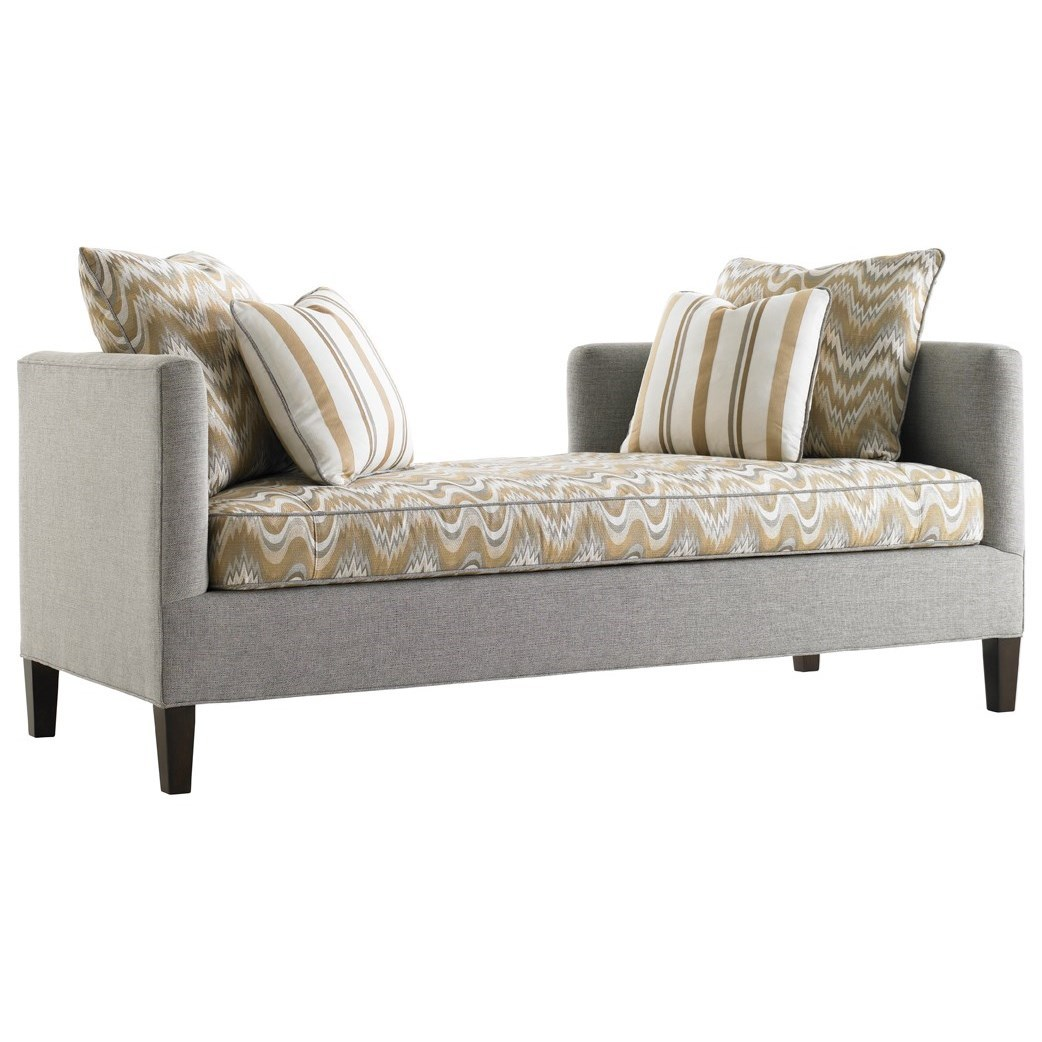 Lexington Upholstery Sebastian Settee by Lexington at Johnny Janosik